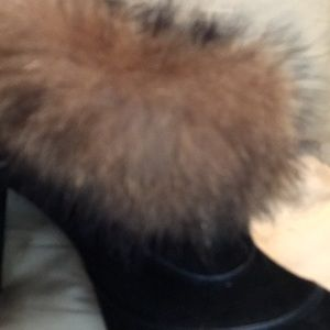 Tod's Shoes - Tod's Ankle Boot with Fur around ankle